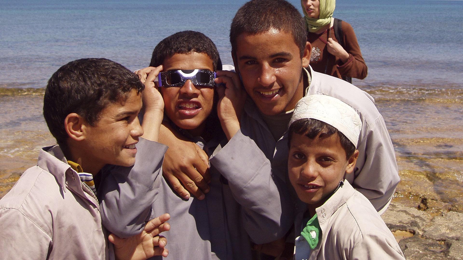 Eclipse Salum, Egipto, 2015