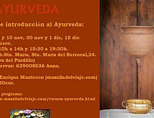 Curso de Ayurveda en Madrid