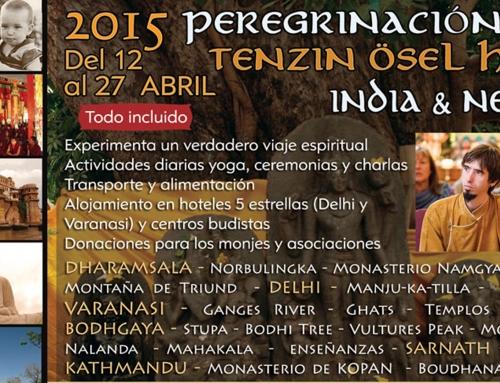 Peregrinación en India y Nepal con Tenzin Ösel Hita