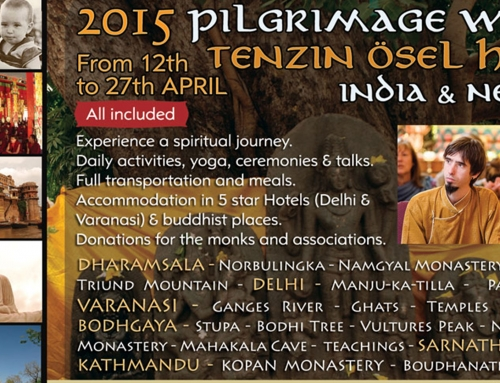 Pilgrimage in India and Nepal with Tenzin Osel Hita