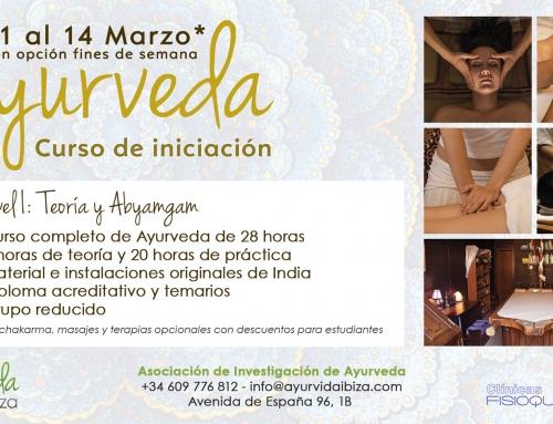 Cursos de Ayurveda en Ibiza